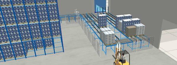 3d simulatie logistiek